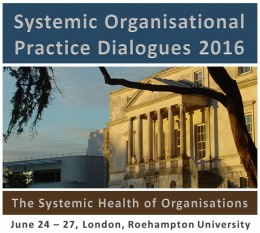Systemic Organisational Practice Dialogues 2015 Roehampton